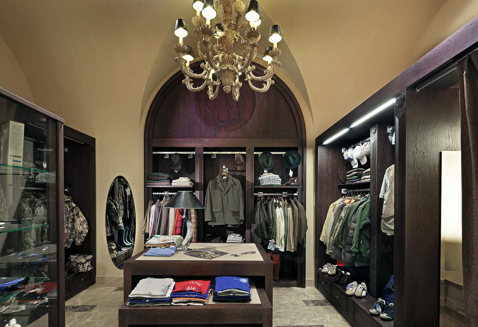Beretta clothes section