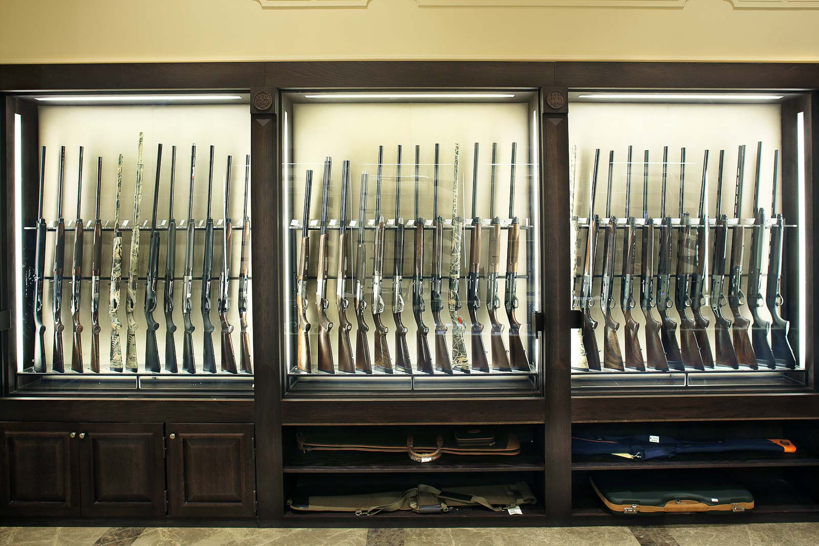 Displays for Beretta weapons
