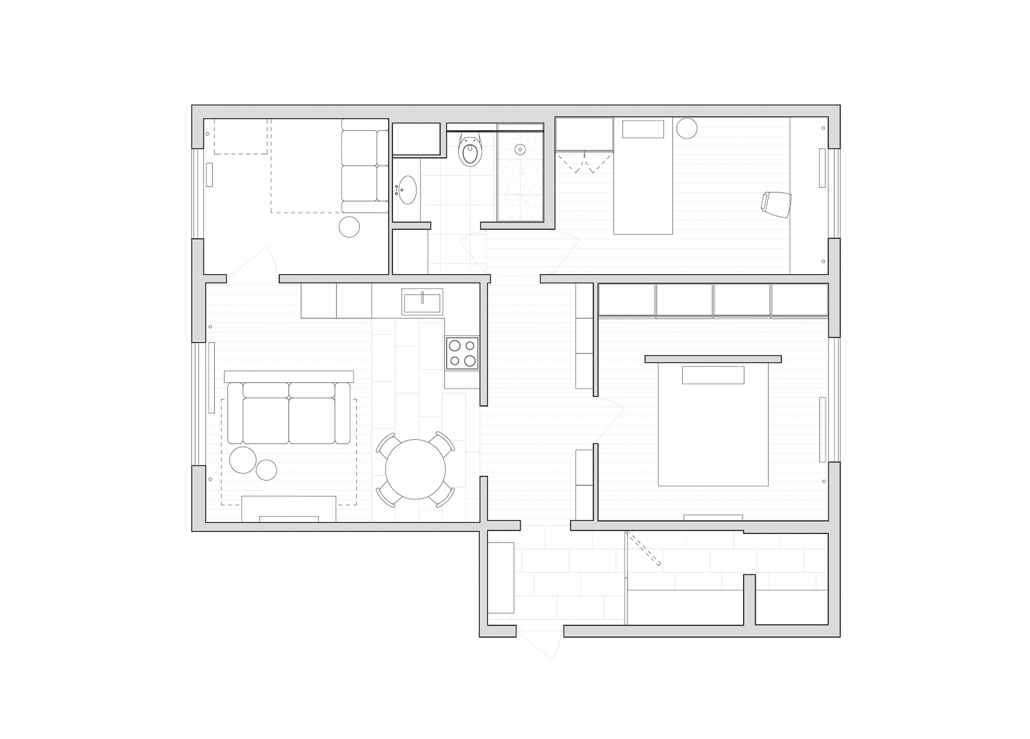 Floor plan, apartment