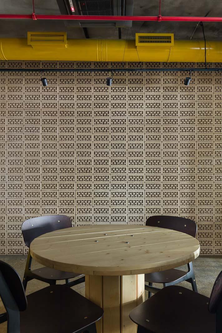 Bricks with holes