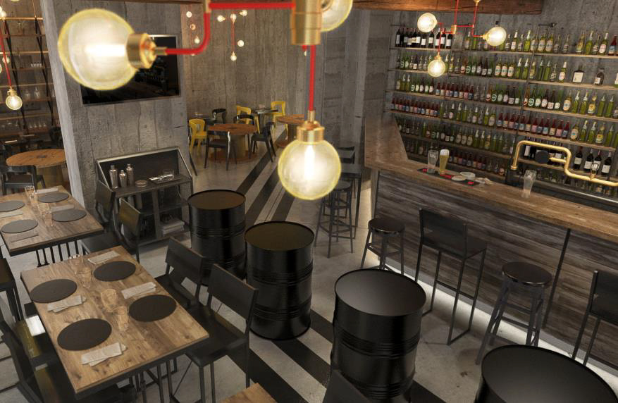 Concept of the Craft Beer Bar