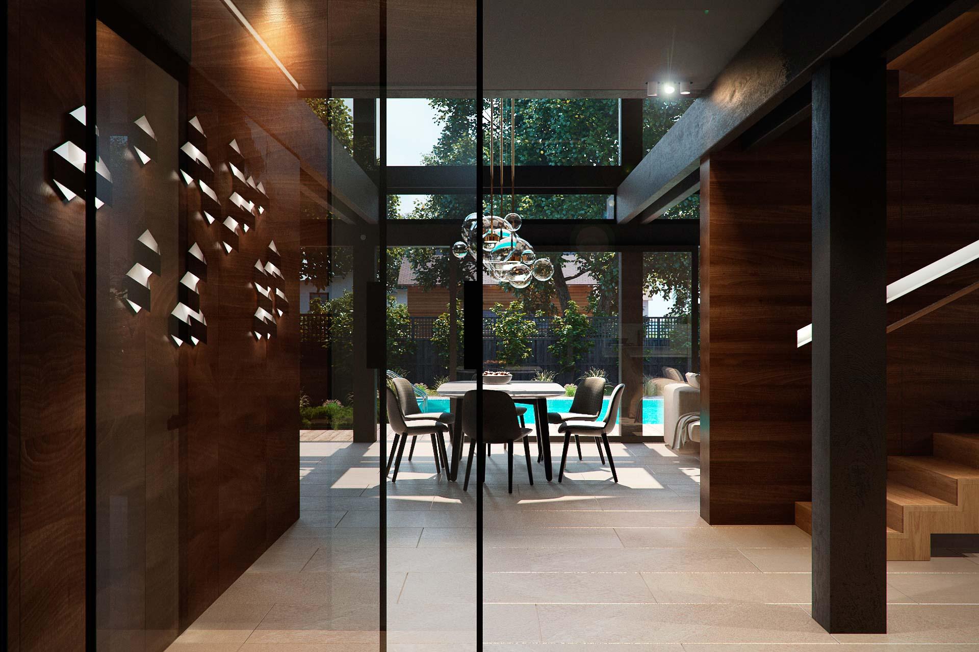Hall interior design by lera bykova