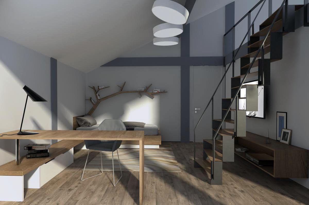 Kids room interior design by Lera Bykova