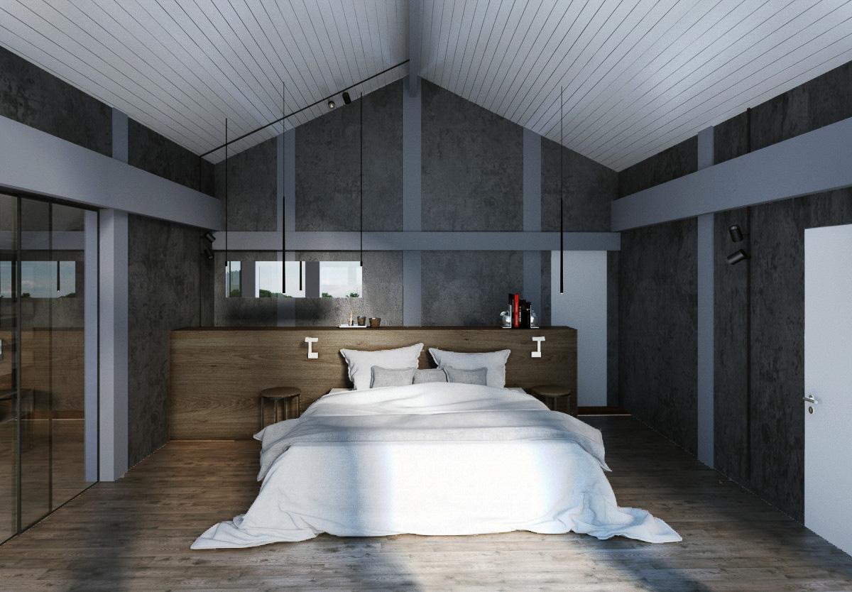Master Bedroom interior design by Lera Bykova