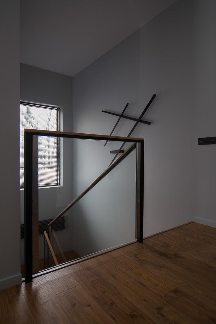 Minimalistic light on the wall