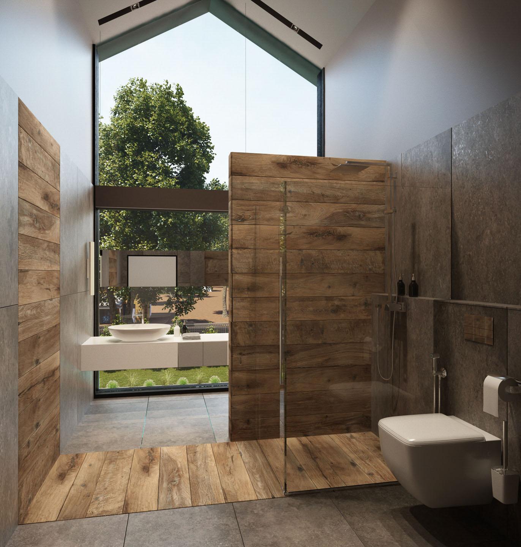 Option 2 bathroom interior design by Lera Bykova