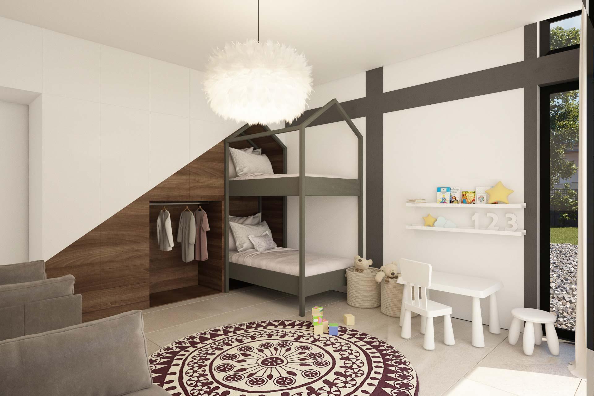 Option 2 kids room interior design